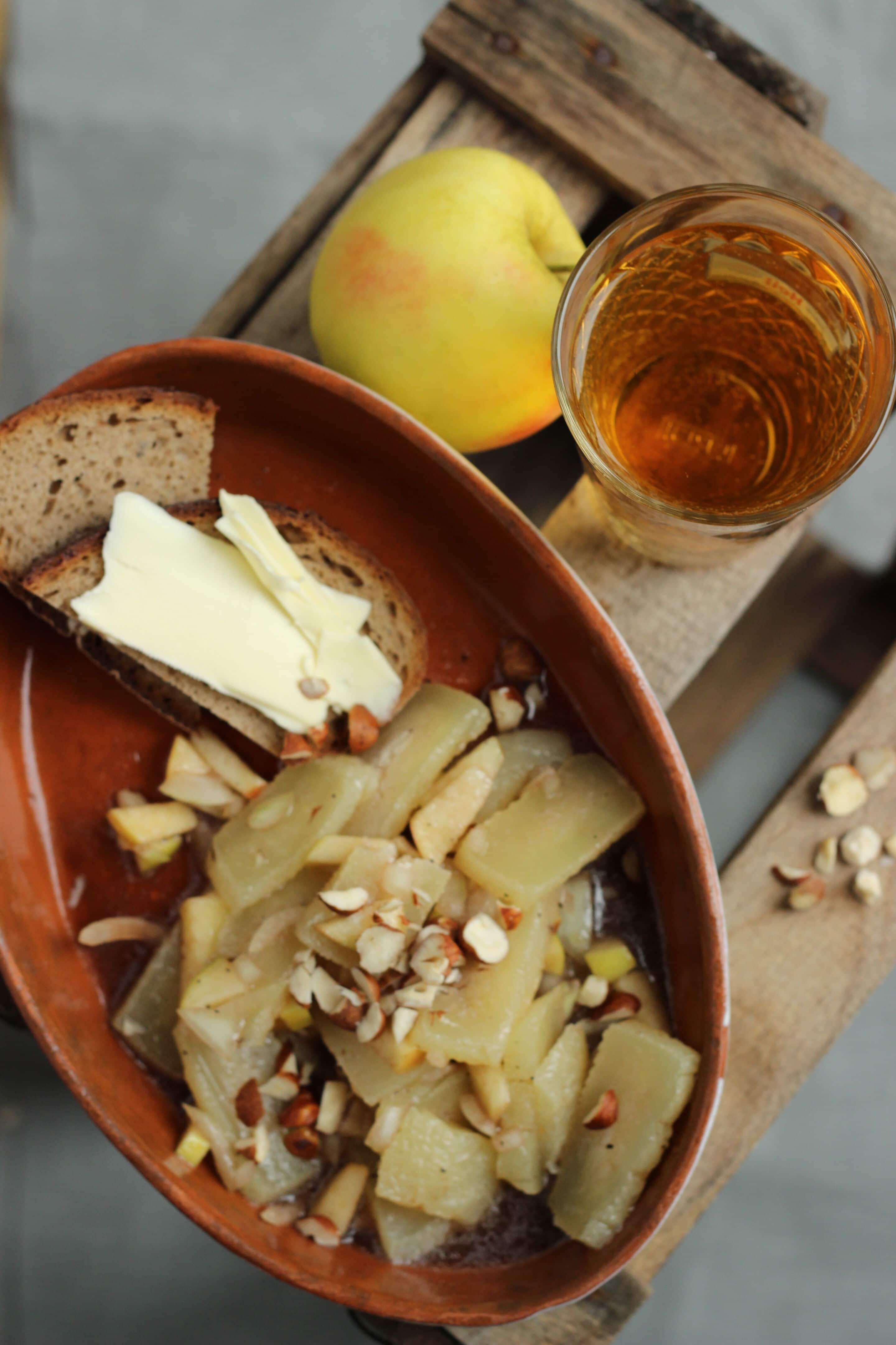 Handkäs'-Salat mit Mussigg oder Anneliese bloggt Vol. 1