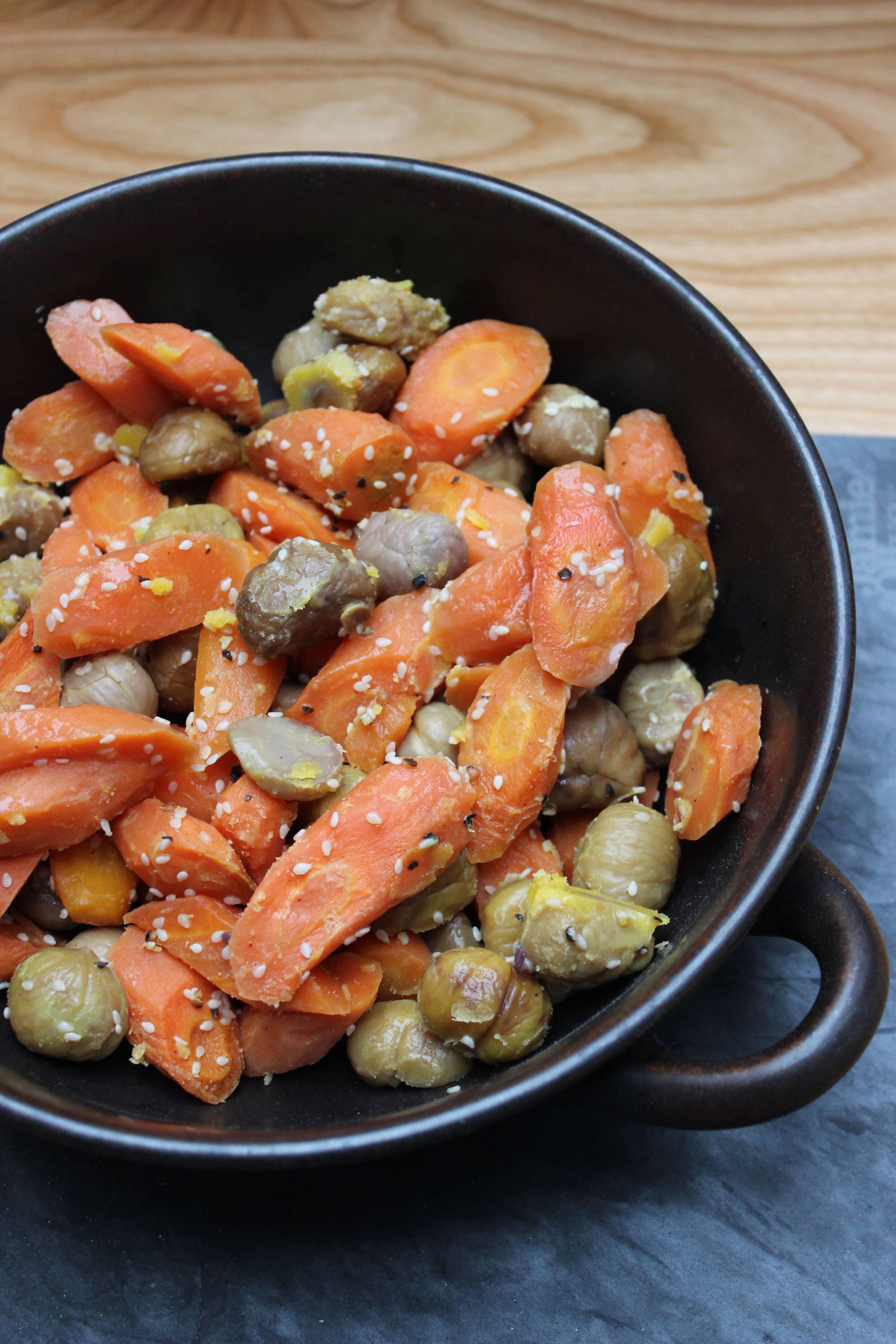 Karotten-Maronen-Suppe mit Sesam oder was Michael Mittermeier zum Dinner isst