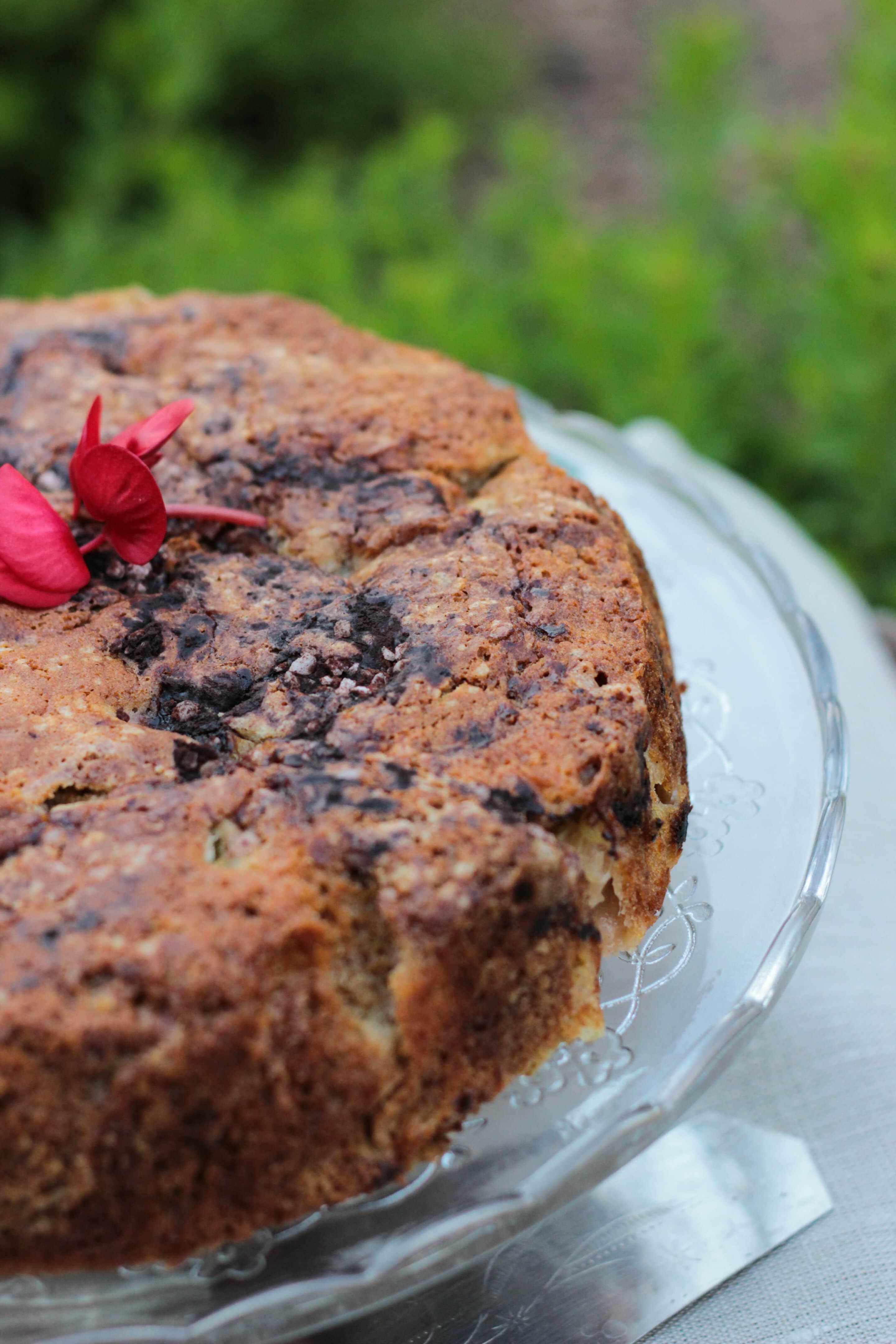 Neuseeländischer Rhabarberkuchen oder zu Gast bei Rosie