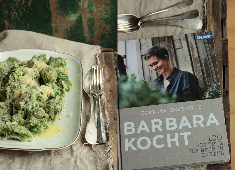 Kräuterfleckerl aus Barbara kocht oder Jeden Tag ein Buch
