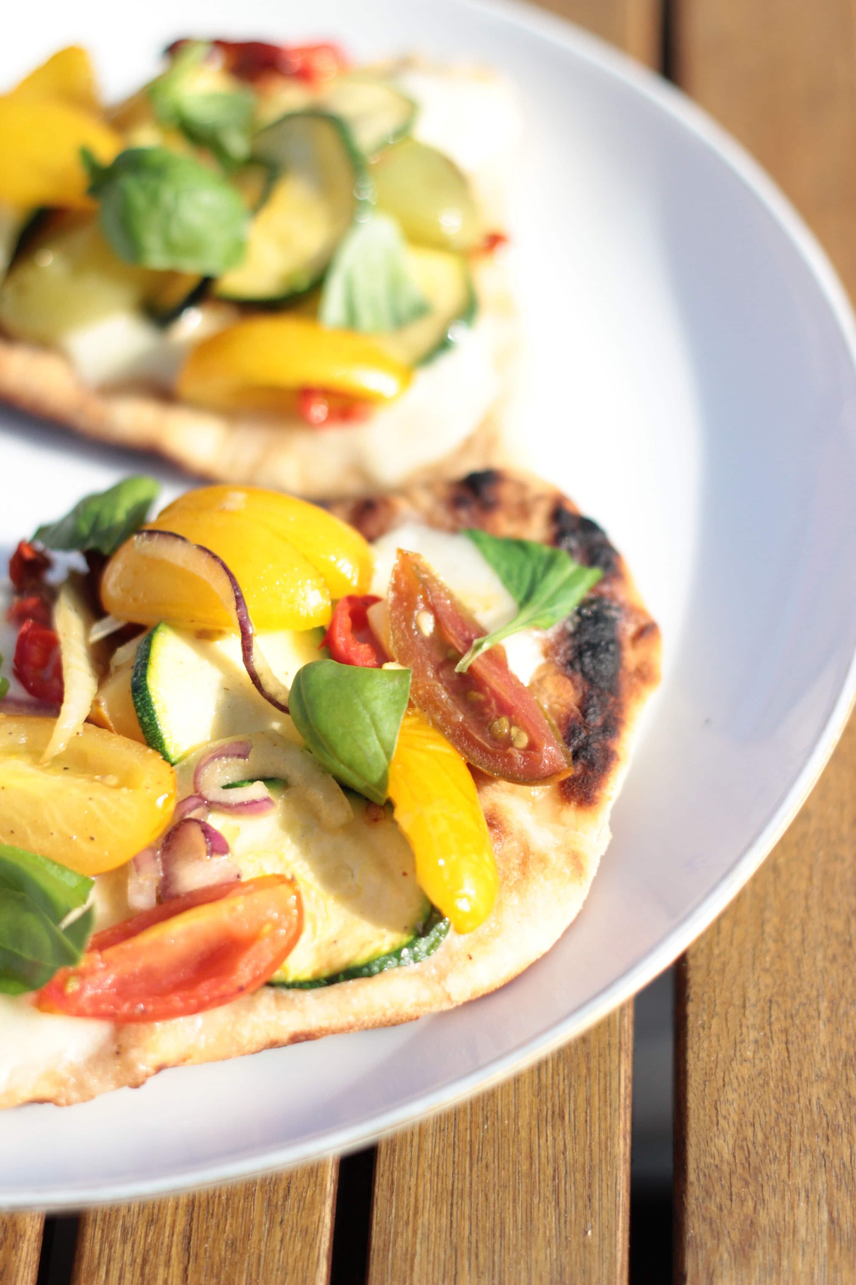 Mini-Pizzen vom Grill oder Tomaten vom Balkon